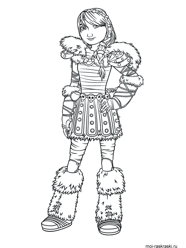 How To Train Your Dragon Coloring Pages 12