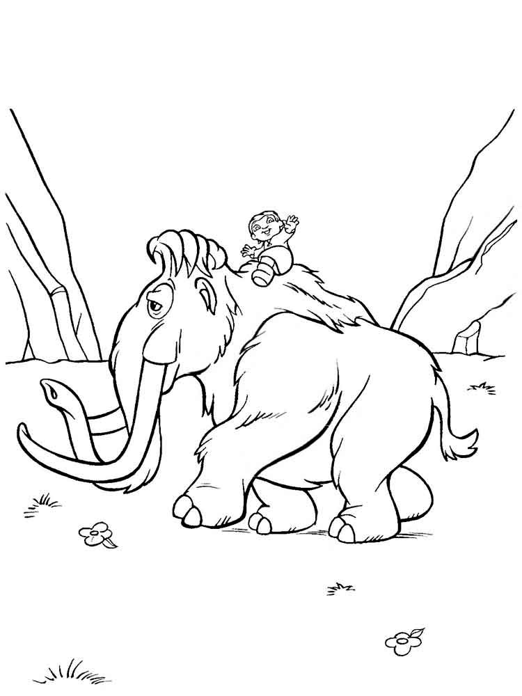 Ice Age coloring pages Download and print Ice Age coloring pages