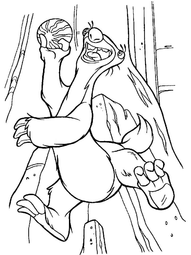 Ice Age coloring pages. Download and print Ice Age coloring pages