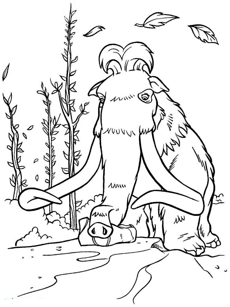 Ice Age coloring pages Download