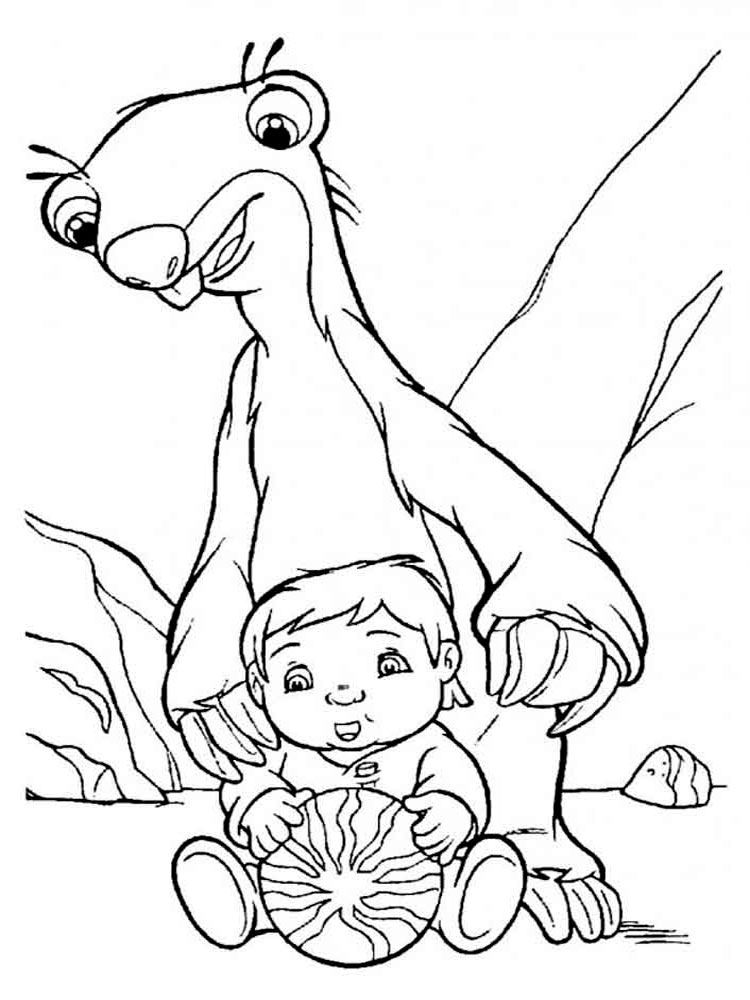 ice age diego coloring pages - photo#34