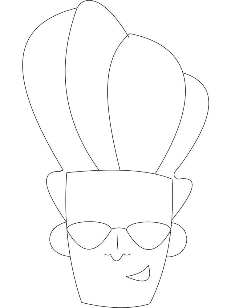 johnny bravo coloring pages - photo#22