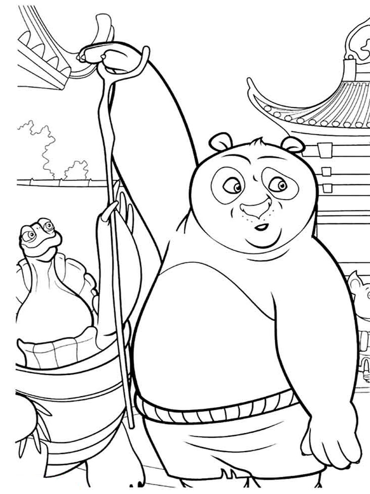 Kung Fu Panda 2 Shen Coloring Pages Sketch Coloring Page