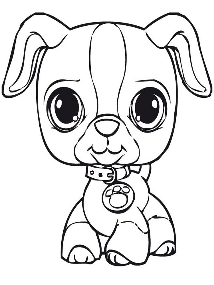 Littlest Pet Shop coloring pages. Download and print ...