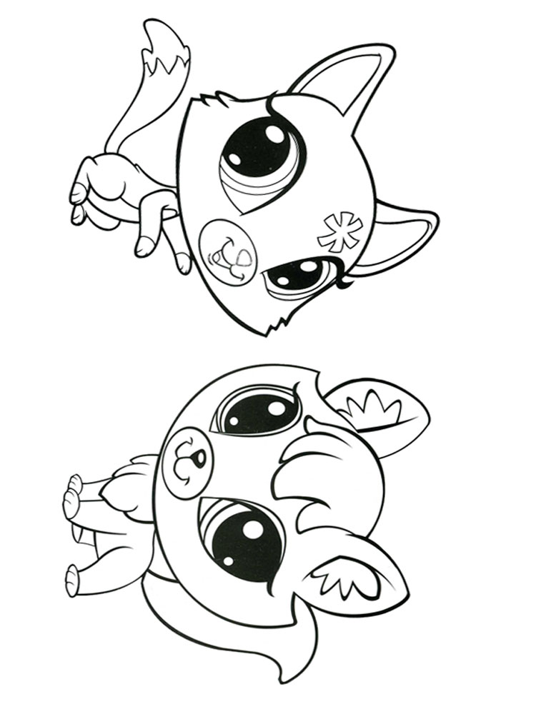 Littlest Pet Shop coloring pages Download and print