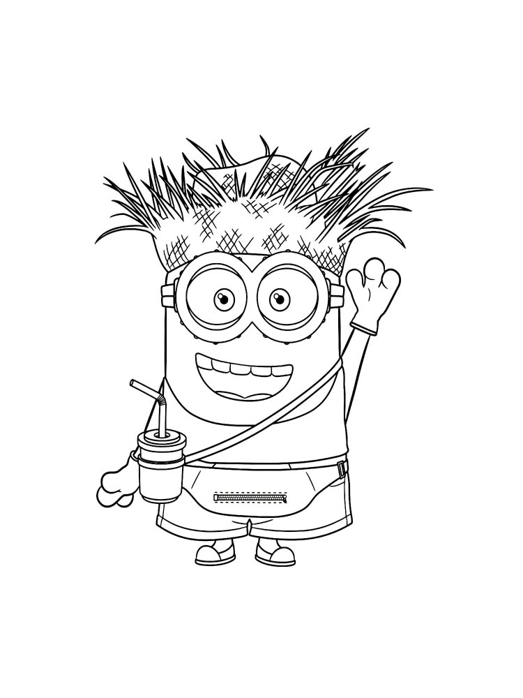 Minions coloring pages Free printable