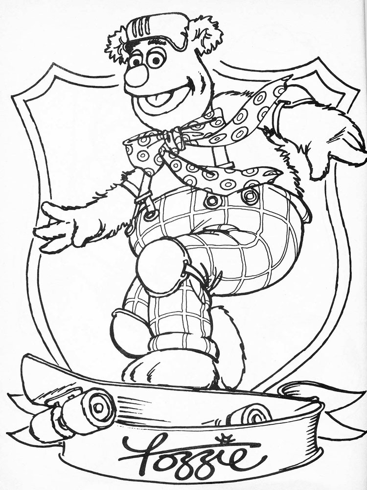 The Muppet Show coloring pages. Download and print The Muppet Show ...