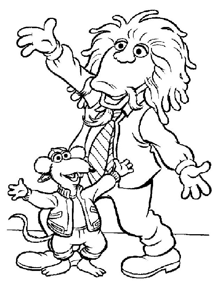 The Muppet Show coloring pages