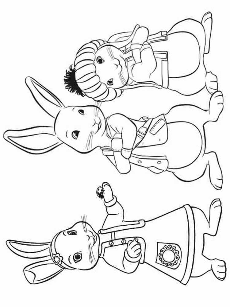 Free Peter Rabbit coloring pages. Download and print Peter ...