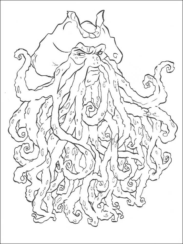 pirates caribbean coloring pages | Pirates of the Caribbean coloring pages. Download and ...