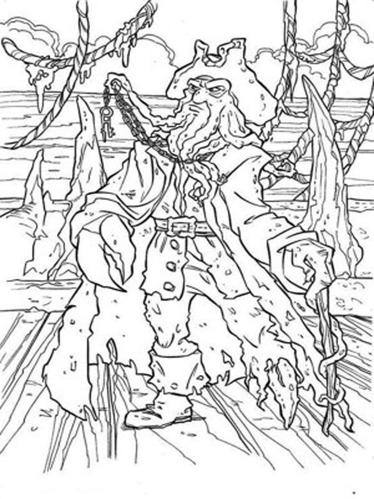 Pirates of the caribbean coloring pages download and for Coloring pages of pirates of the caribbean