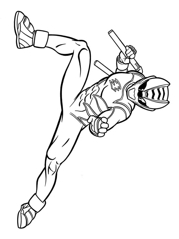 Power Rangers coloring pages Download and print Power