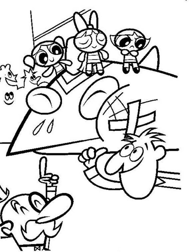 Powerpuff Girls coloring pages. Download and print ...