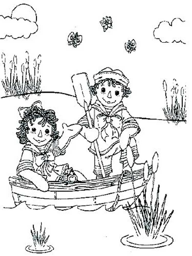 Free Raggedy Ann And Andy Coloring Pages. Download And Print Raggedy Ann  And Andy Coloring Pages