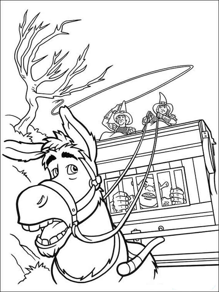shrek the third printable coloring pages   Shrek coloring pages. Download and print Shrek coloring pages