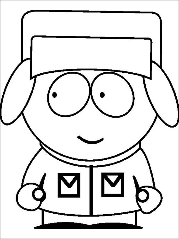 South Park coloring pages. Download and print South Park coloring ...