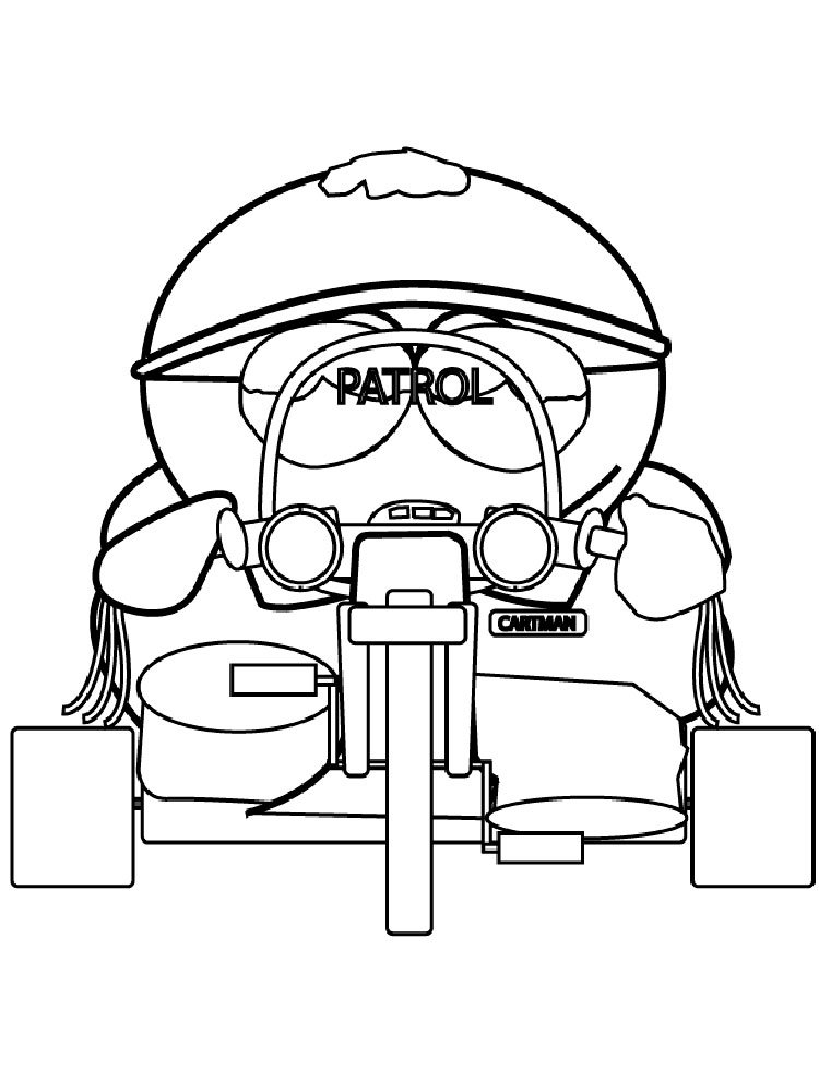 South Park coloring pages. Download and print South Park ...