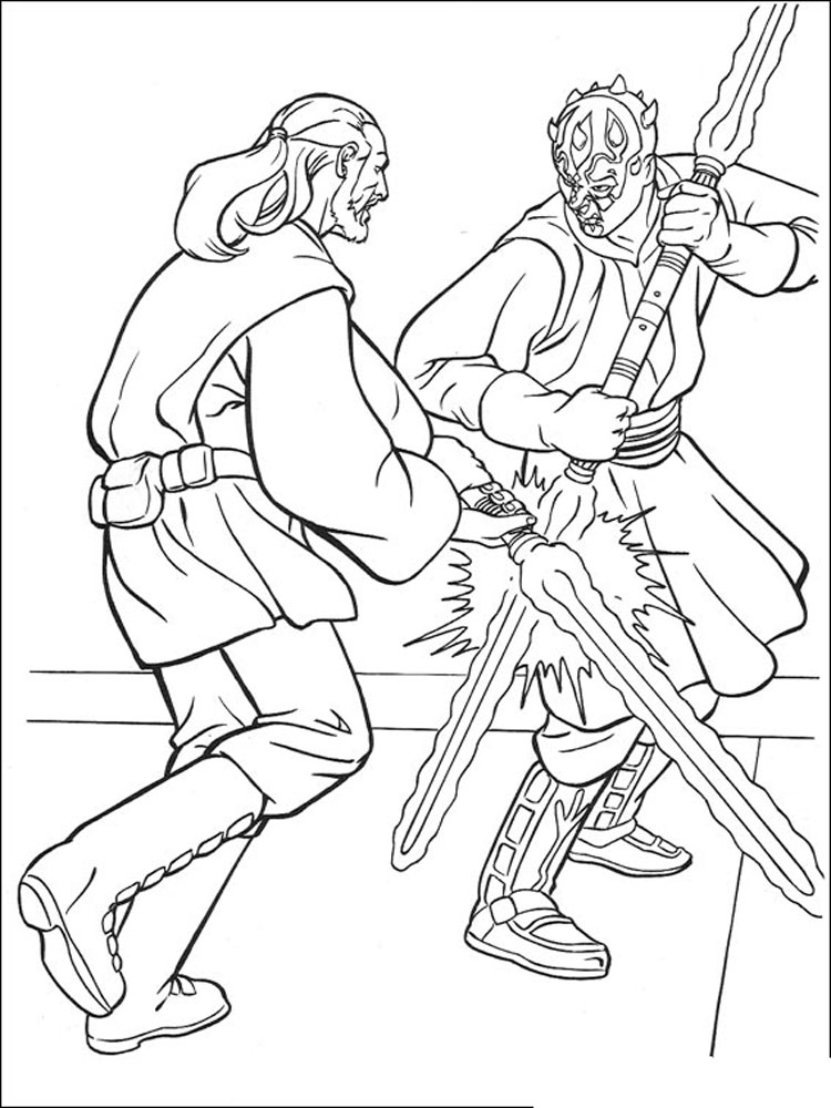 Star Wars coloring pages. Download and print Star Wars ...