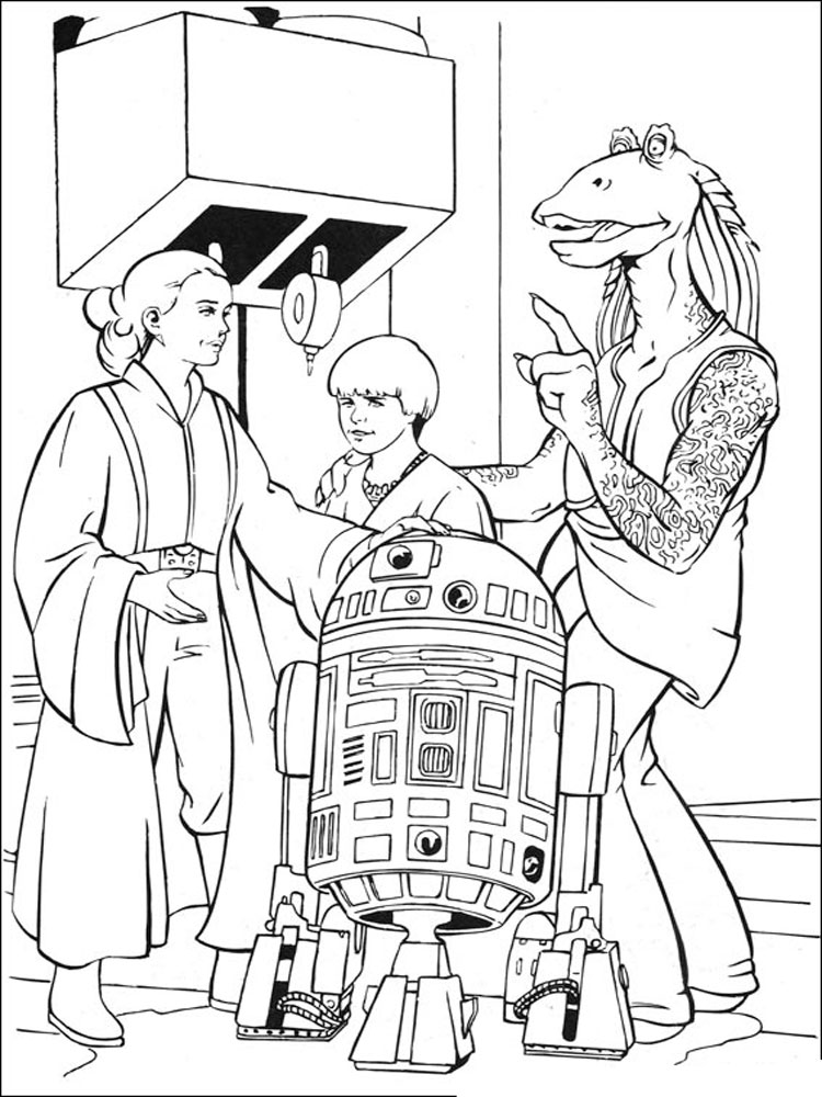 Star Wars Coloring Pages. Download And Print Star Wars