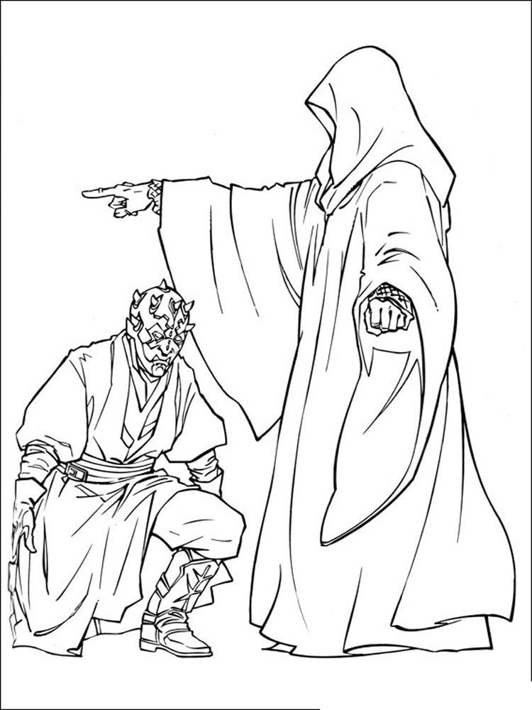 Star Wars coloring pages Download