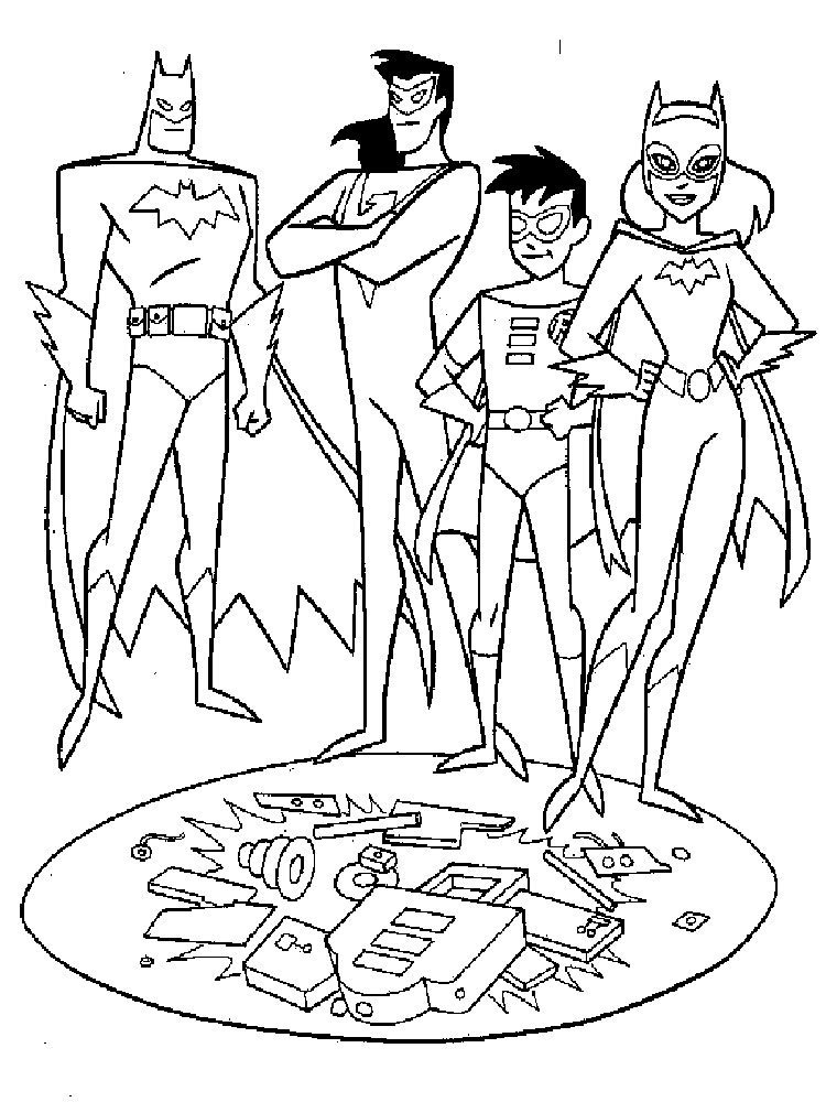 Awesome Superfriends Coloring Pages 1 ...
