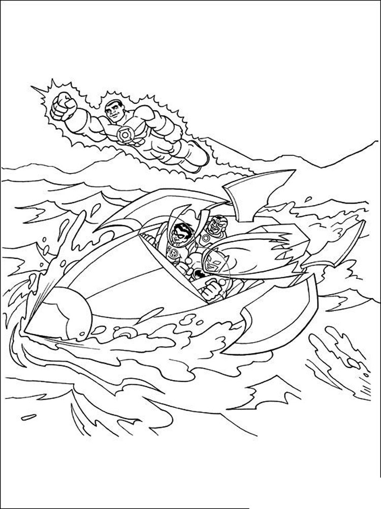 Super Friends coloring pages. Download and print Super Friends ...