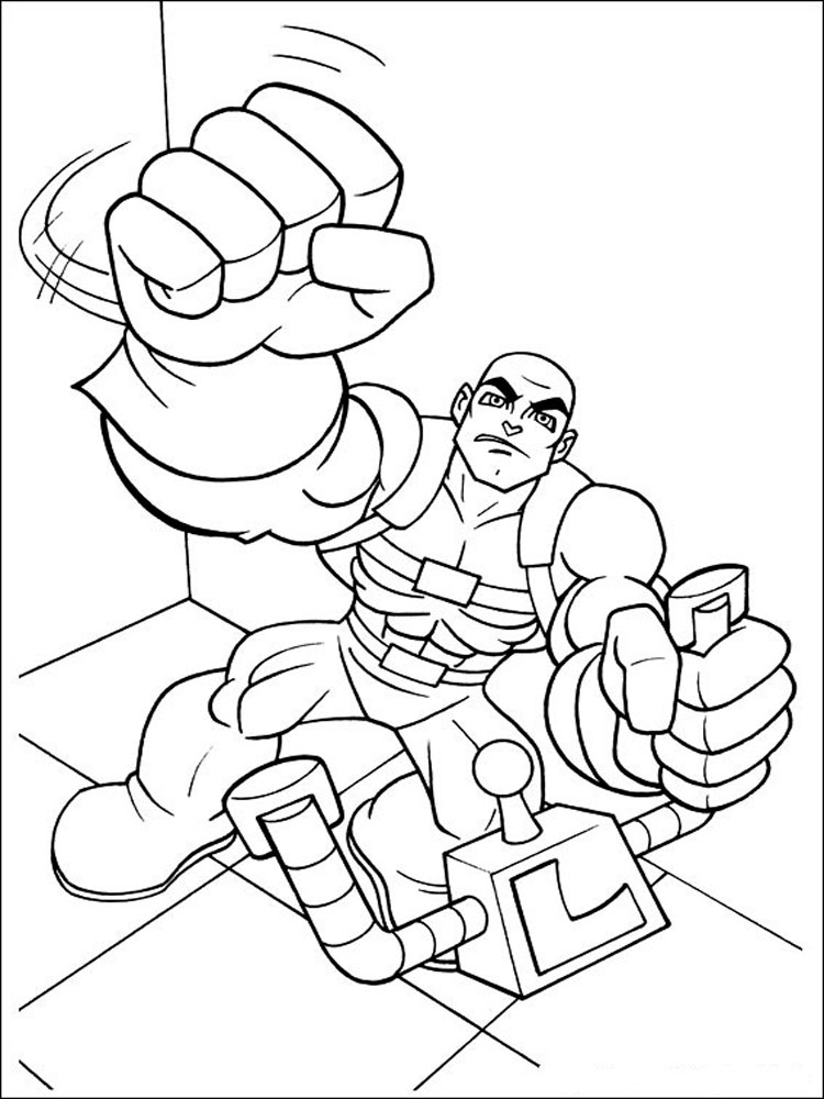 Super Friends coloring pages. Download and print Super ...