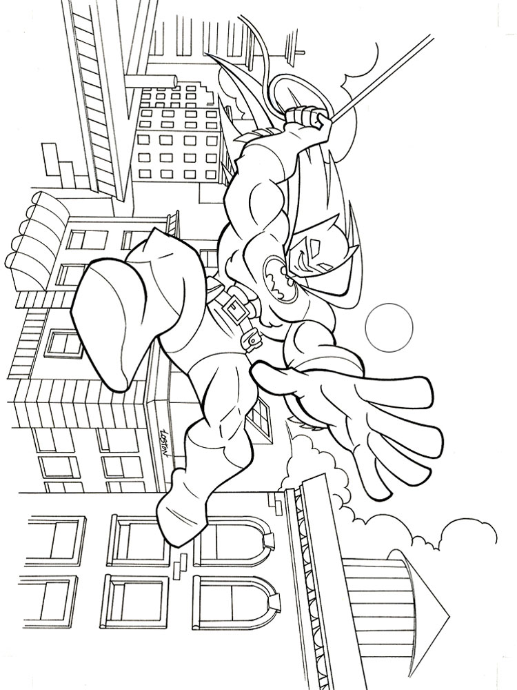 Super Friends Coloring Pages Download And Print Super