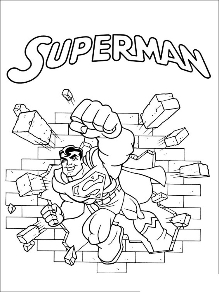 Super Friends coloring pages Download
