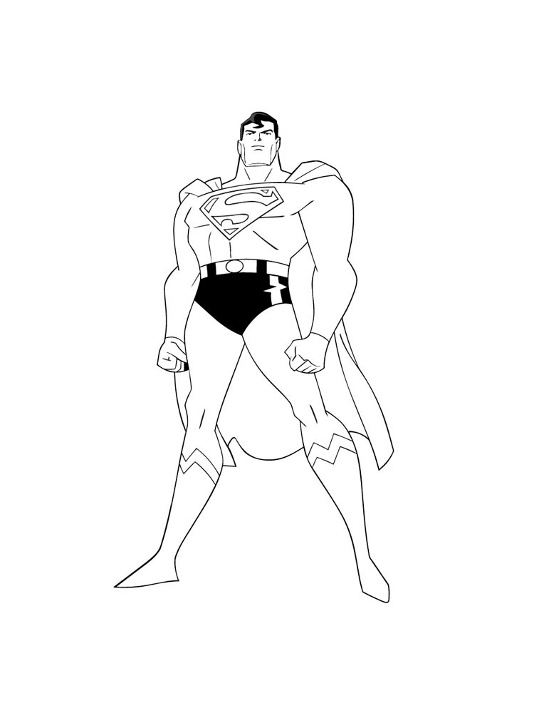 Batman Superman Coloring Pages And Print