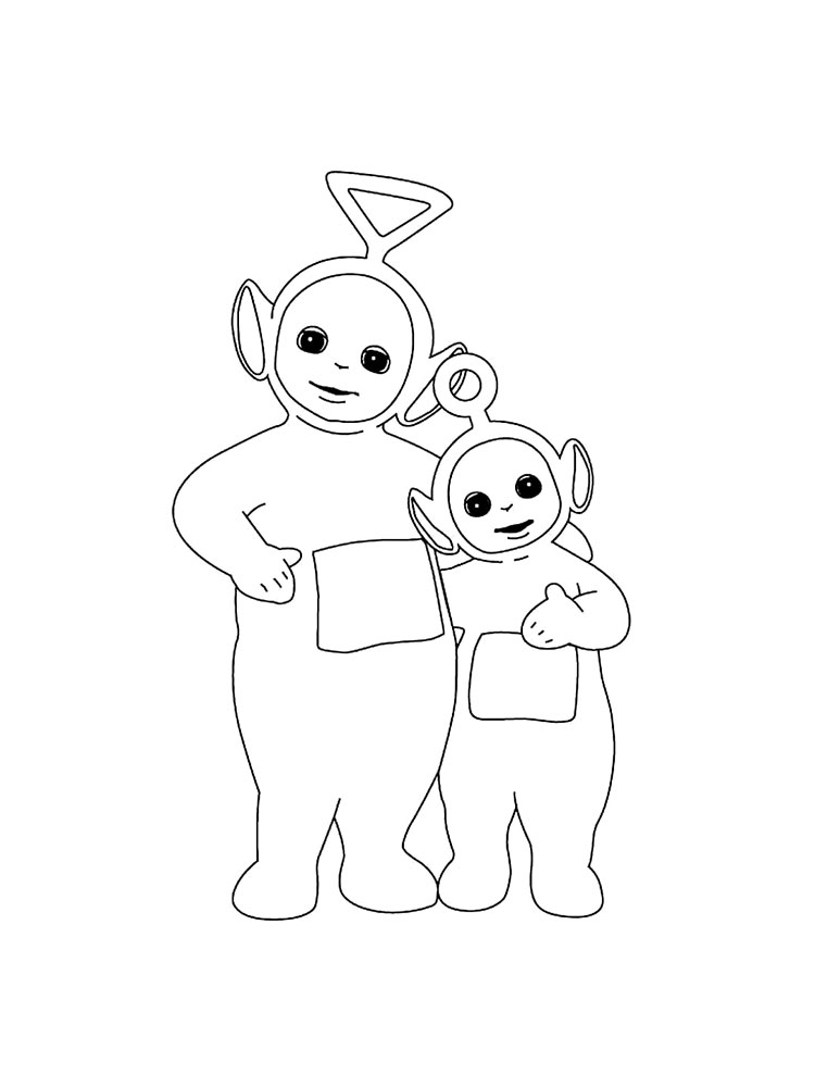 Teletubbies coloring pages Download