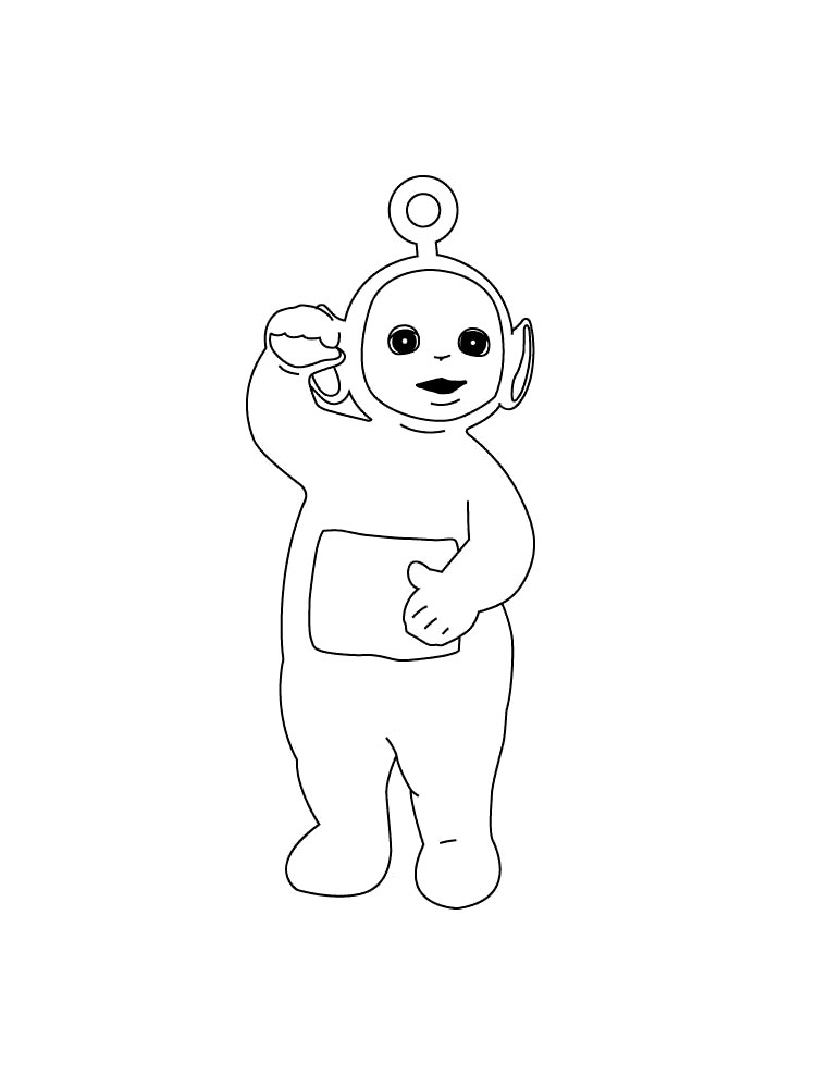 Teletubbies coloring pages. Download and print Teletubbies ...