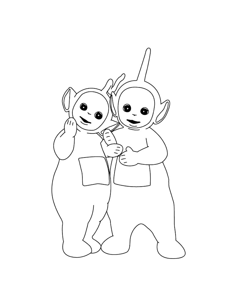 Teletubbies Coloring Pages 5