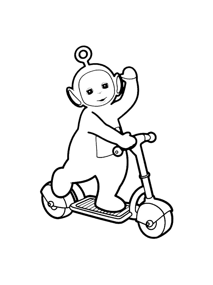 Teletubbies coloring pages Download and print Teletubbies