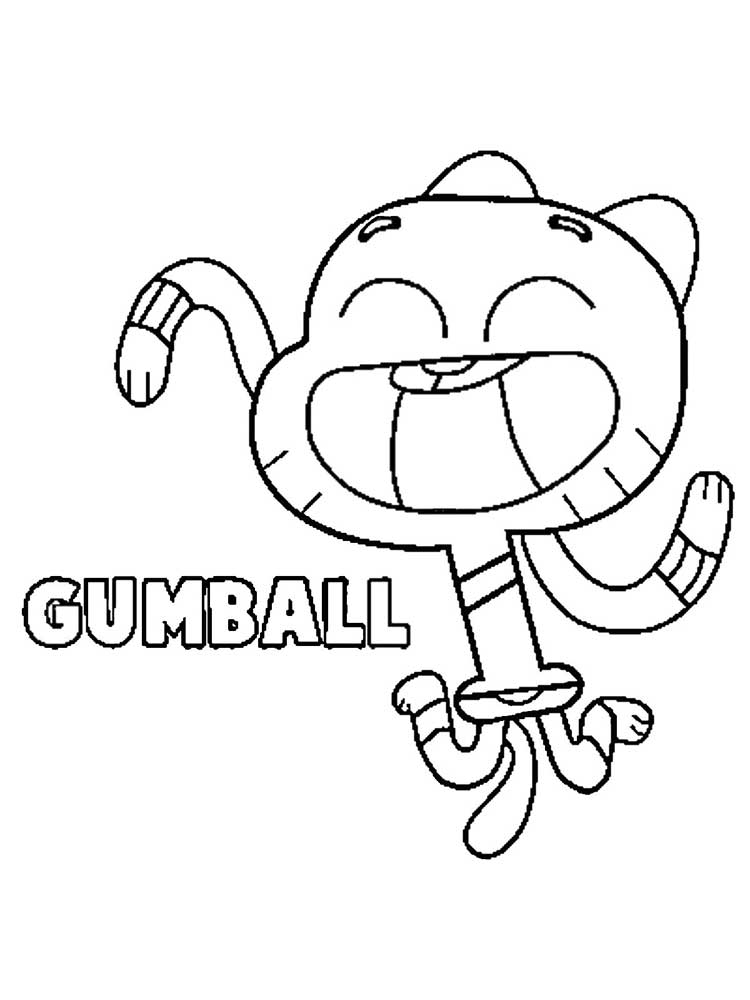 Free The Amazing World Of Gumball Coloring Pages Download And Print The Amazing World Of Gumball Coloring Pages