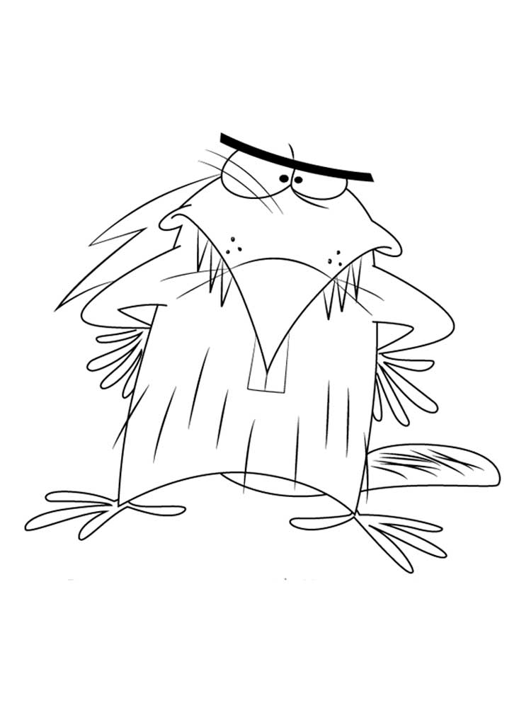Free The Angry Beavers Coloring Pages Download And Print