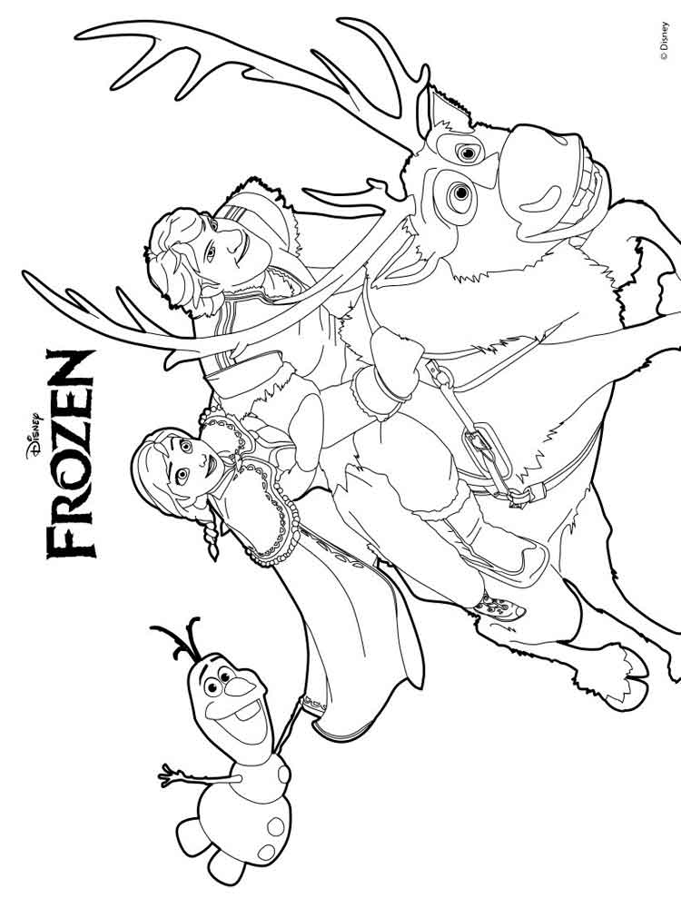 Kleurplaat Mickey Mouse Kerst Frozen Coloring Pages Download And Print Frozen Coloring