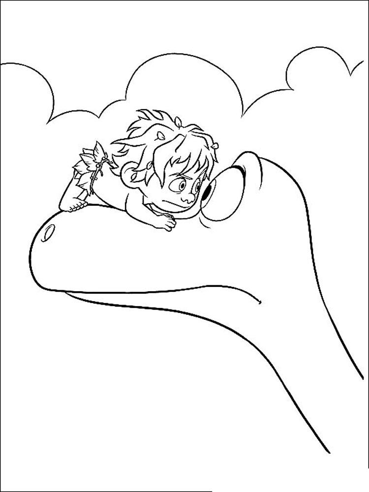 The Good Dinosaur coloring pages. Download and print The ...