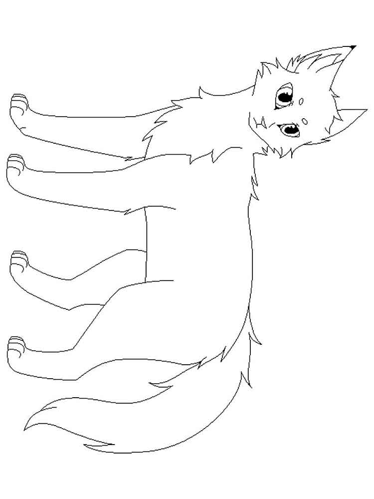Free Warrior Cats coloring pages. Download and print ...