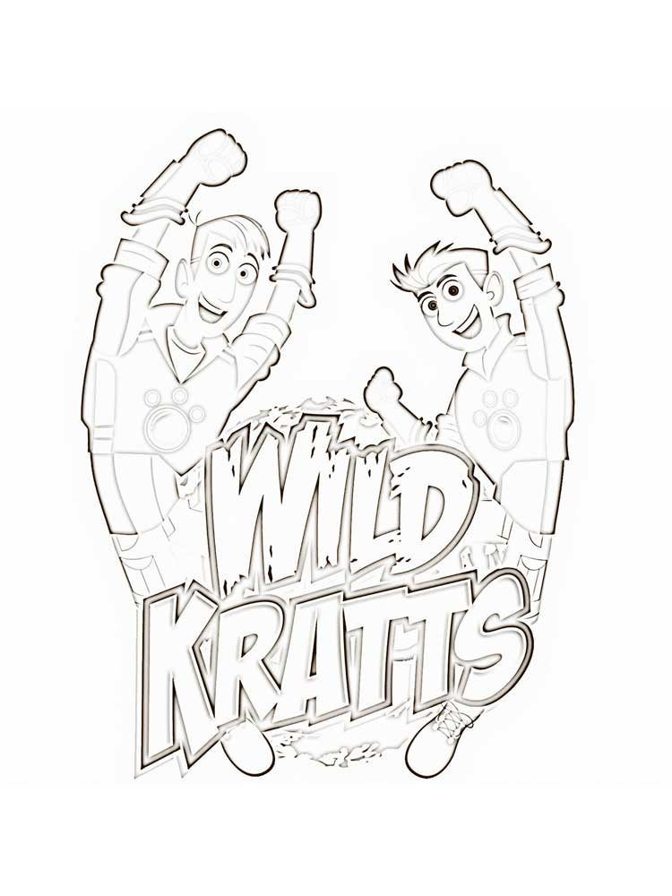Free Wild Kratts Coloring Pages Download And Print Wild