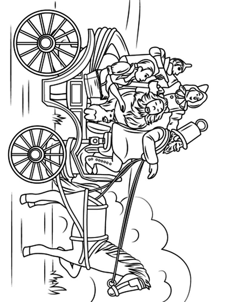 Wizard of Oz coloring pages Download