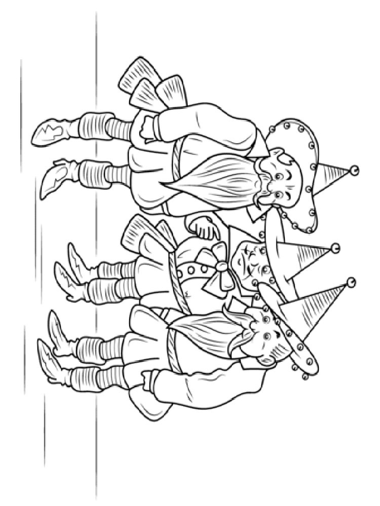 Wizard of Oz coloring pages. Download and print Wizard of ...