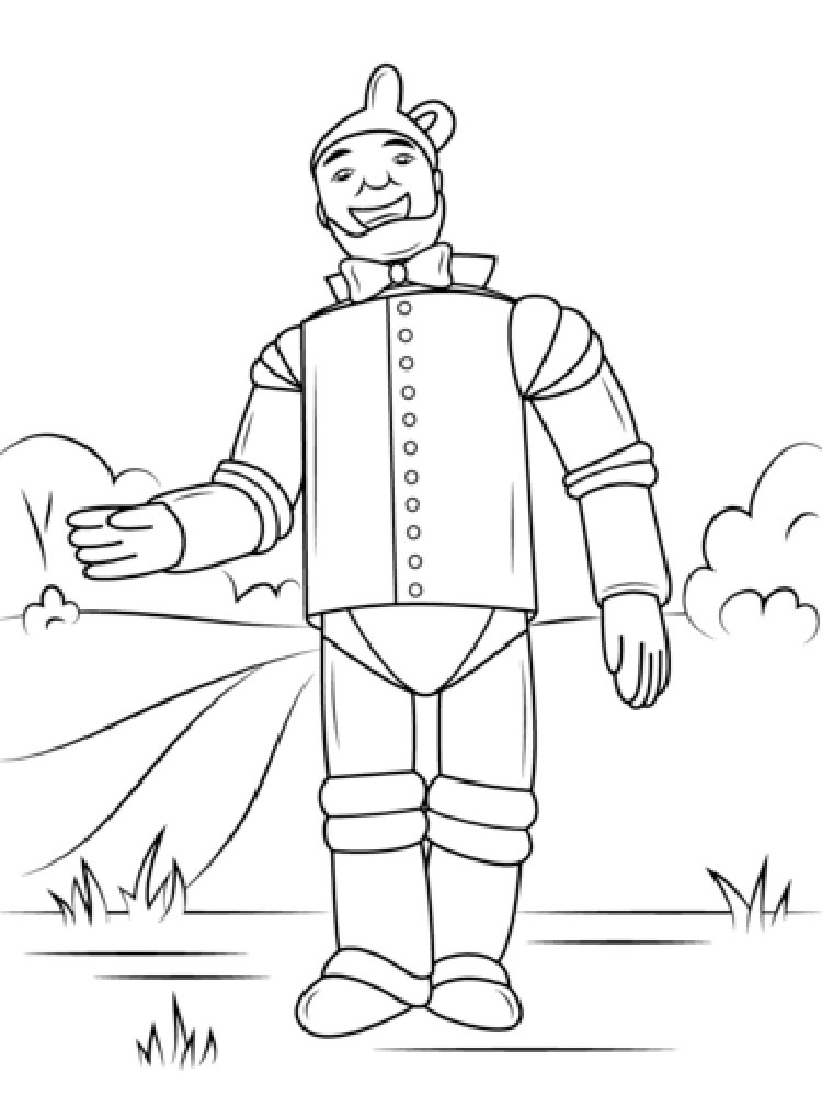 Wizard Of Oz Coloring Pages 8