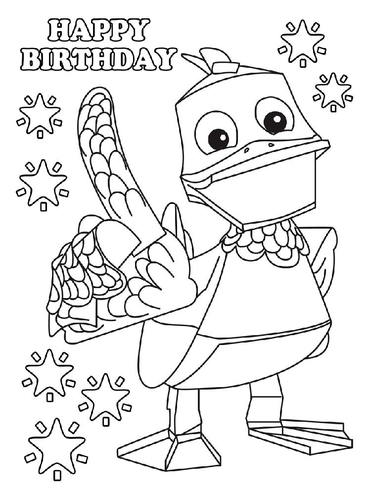 Free Zack And Quack Coloring Pages Download And Print