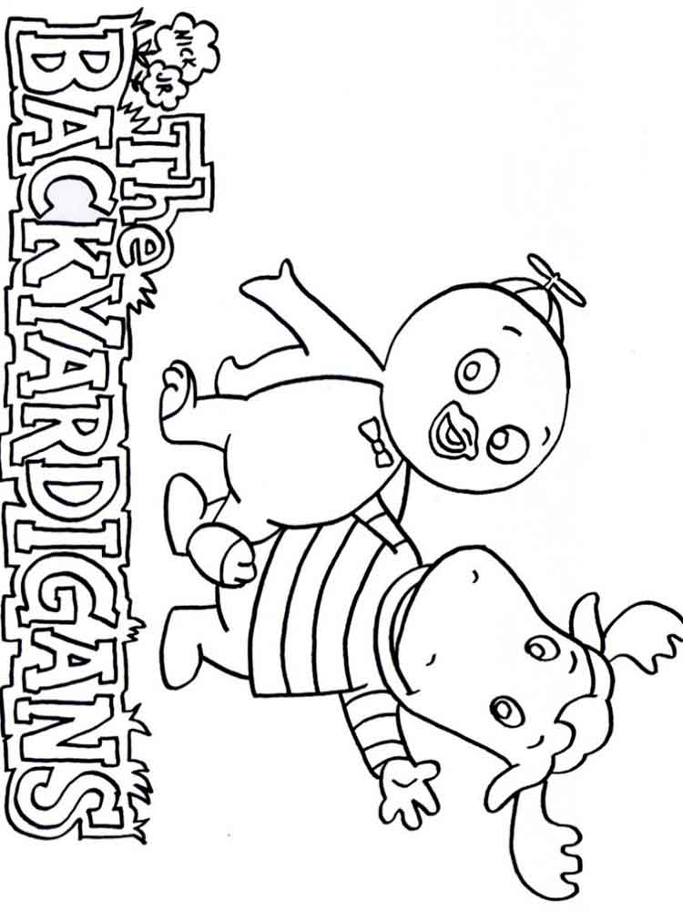 Backyardigans coloring pages. Free Printable Backyardigans coloring ...