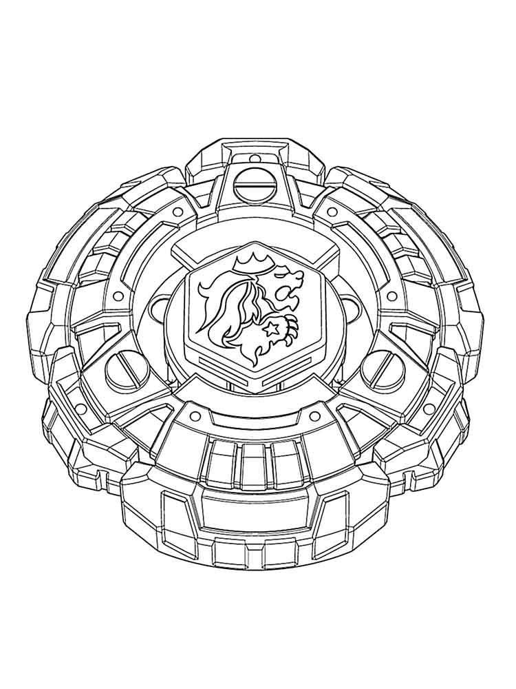 beyblade coloring pages 1 - Beyblade Coloring Pages