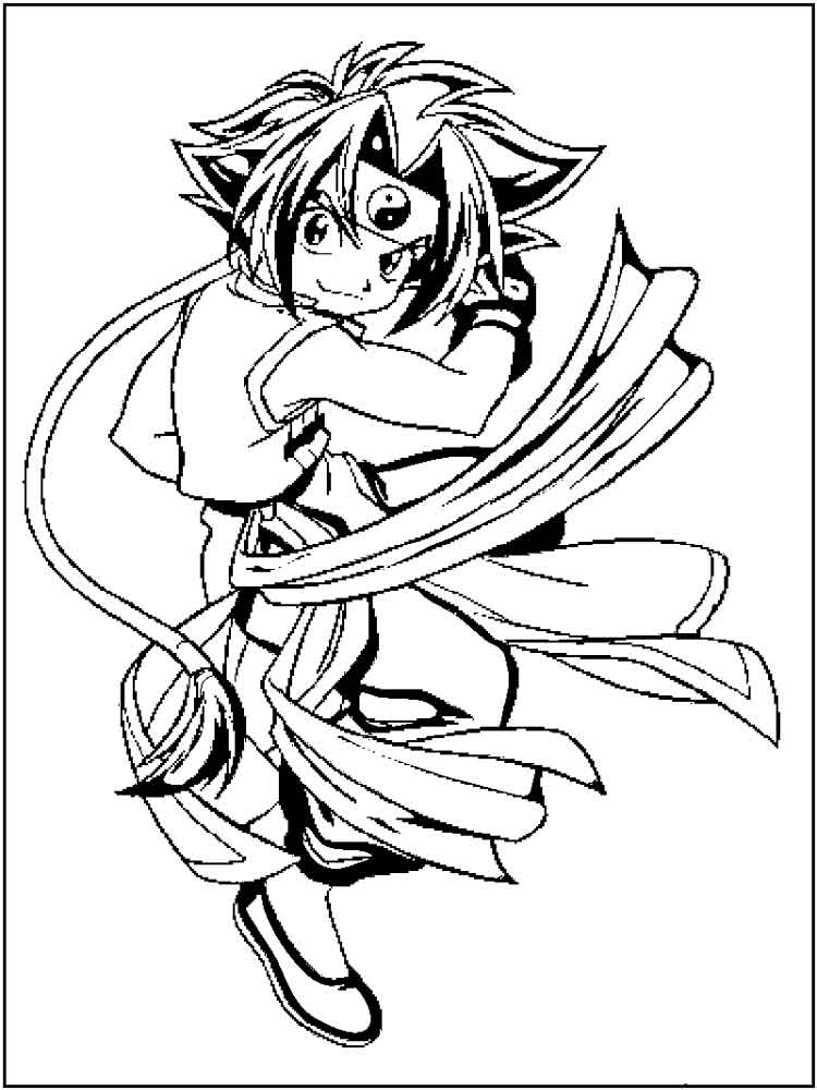 beyblade coloring pages 10 - Beyblade Coloring Pages