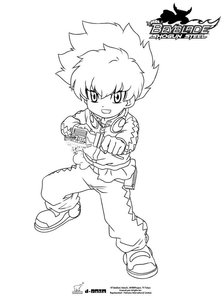 beyblade coloring pages  free printable beyblade coloring pages