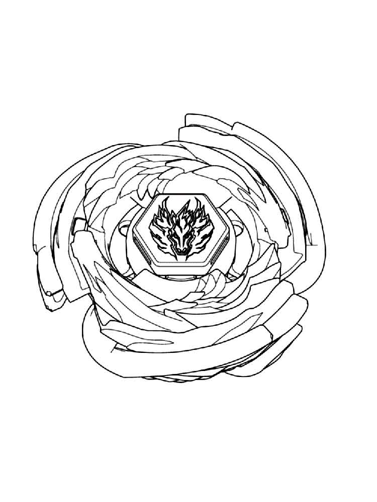 Beyblade coloring pages. Free Printable Beyblade coloring ...