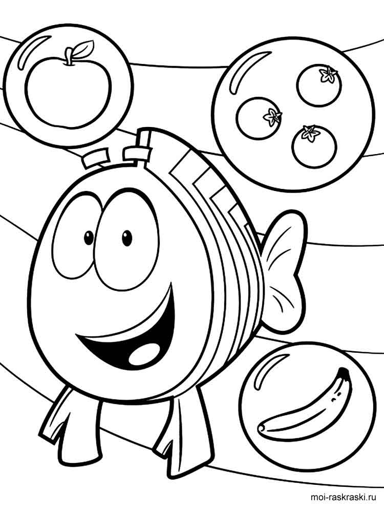 Nick Jr Coloring Pages - GetColoringPages.com | 1000x750